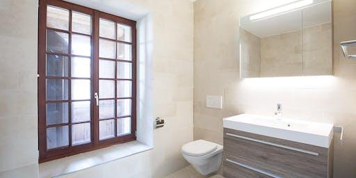 Kurs 1136 Sanierung Badezimmer - Klein und Gross