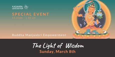 EMPOWERMENT Buddha Manjushri tickets