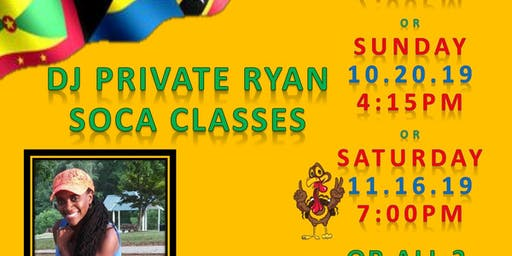 Private Ryan Soca Master Classes