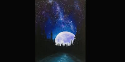 Moonrise Forest - SOLD OUT