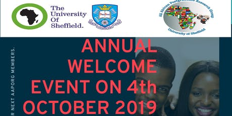 AAPORG Annual Welcome Event 2019 tickets