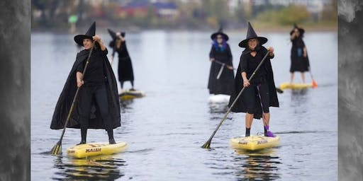 Witches & Reapers Halloween Paddle