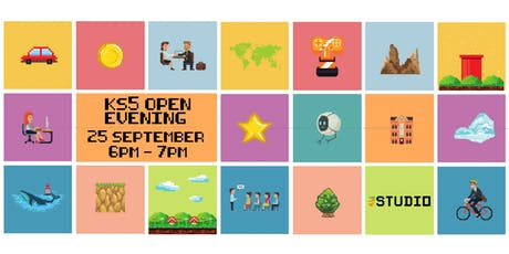 The Studio Sixth Form Open Evening, 5-7pm tickets