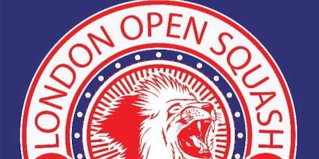 PSA London Open Squash 2019 Men & Women tickets