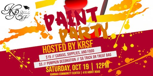 Kiani Rodgers Scholarship Fund Paint Party