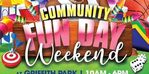 Community Fun Day Weekend