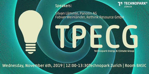TPECG | Technopark Energy &  Climate Group | November 19