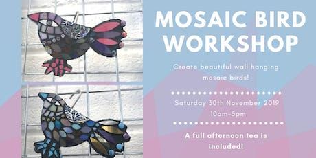 Mosaic Bird Workshop tickets