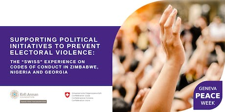Panel Discussion   The Swiss Experience on Preventing Electoral Violence billets