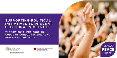Panel Discussion | The Swiss Experience on Preventing Electoral Violence tickets