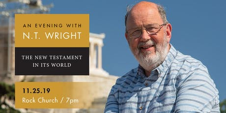 An Evening with N. T. Wright—The New Testament in Its World (San Diego) tickets