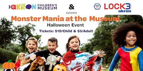 Monster Mania At The Museum tickets