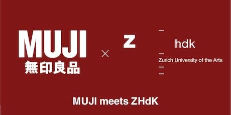 MUJI meets ZHdK - Kenya Hara's visiting lecture [ZHdK students] Tickets