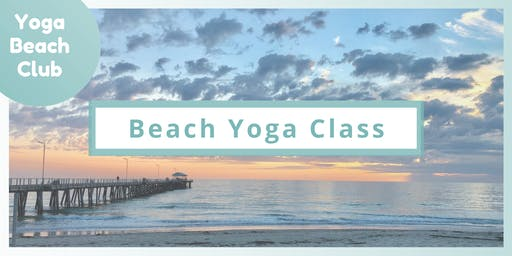Beach Yoga Class | outdoor