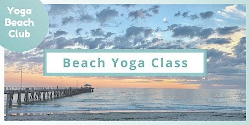 Beach Yoga Class | Henley Beach