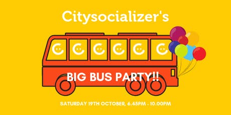Citysocializer's Big Bus Party tickets