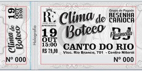 CLIMA DE BUTECO ingressos