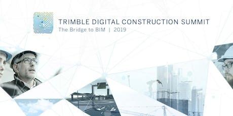 Trimble Digital Construction Summit 2019 tickets
