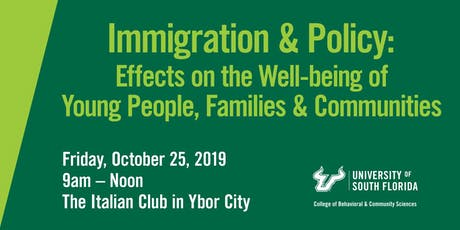 Immigration and Policy: Effects on the Well-being of Young People, Families & Communities tickets