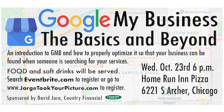 Google My Business The Basics and Beyond tickets