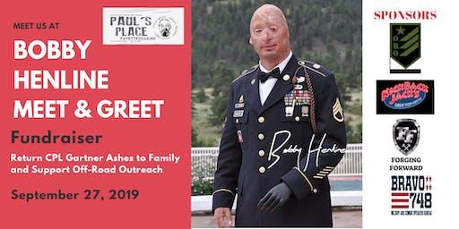 Comedian and Iraq War Veteran Bobby Henline - Meet and Greet