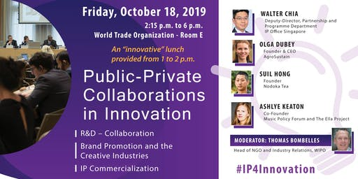 Public-Private Collaborations in Innovation