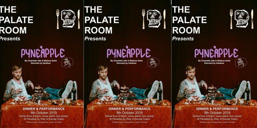 The Palate Room 1st October - More tickets added