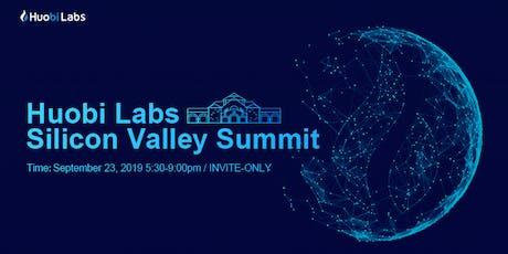 Huobi Labs Silicon Valley Summit Application tickets