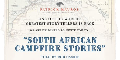 South African Campfire Stories with Rob Caskie tickets