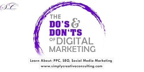 The Do's & Don'ts of Digital Marketing tickets