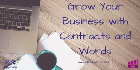 Grow Your Business With Contracts and Words tickets