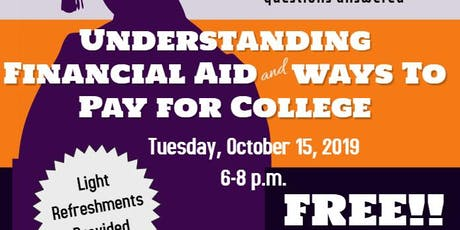 Understanding Financial Aid & Ways to Pay for College tickets