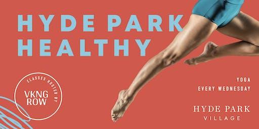 Hyde Park Healthy - Silent Disco Yoga