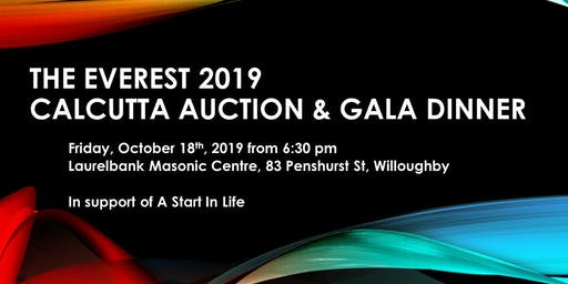 The Everest 2019 Charity Calcutta - Gala Dinner & Auction
