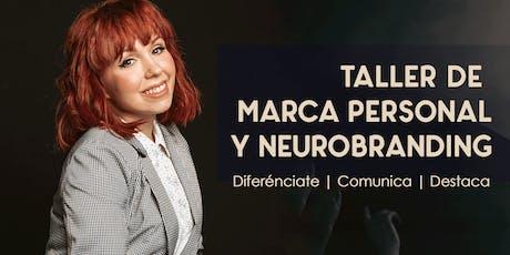 TALLER DE MARCA PERSONAL Y NEUROBRANDING tickets