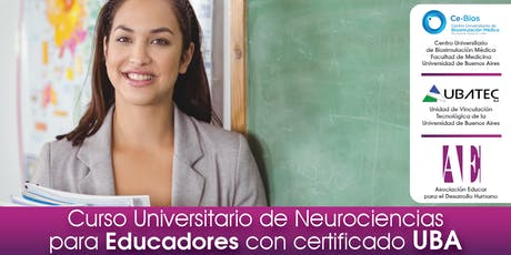 Curso Universitario de Neurociencias para Educadores con certificado UBA entradas