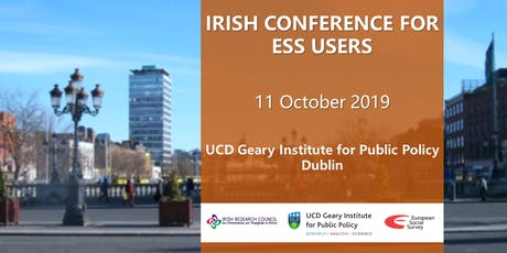 Irish Conference for European Social Survey Users tickets