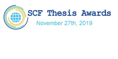 SCF Community Thesis Awards 2019