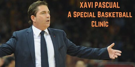 Exclusive basketball clinic with Xavi Pascual tickets