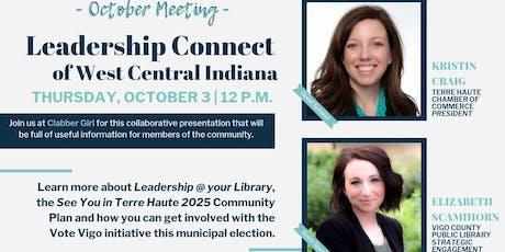 October Meeting: Leadership in the Valley - Kristin Craig & Elizabeth Scamihorn tickets