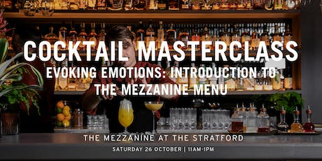 The Mezzanine Cocktail Masterclass With Enrico Gonzato: Evoking Emotions tickets