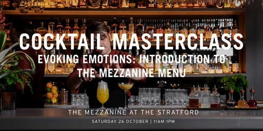 The Mezzanine Cocktail Masterclass With Enrico Gonzato: Evoking Emotions