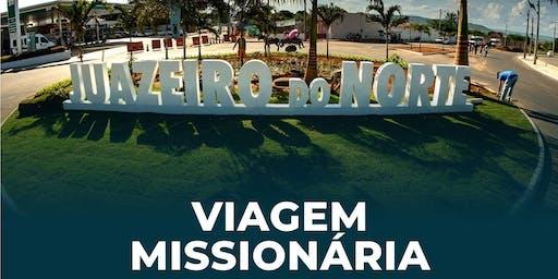Viagem Missionária - Juazeiro do Norte/CE - JANEIRO   2020