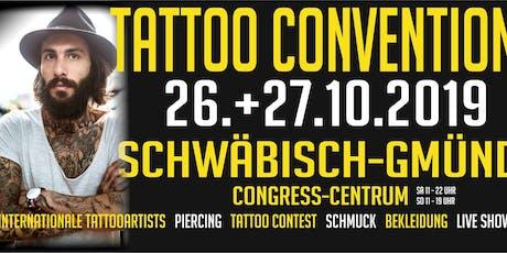 Tattoo Convention Schwäbisch Gmünd Tickets