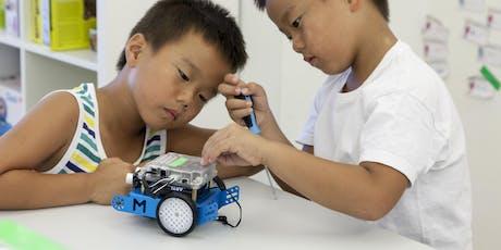 Workshop Robotics: mBot mit Makeblock tickets