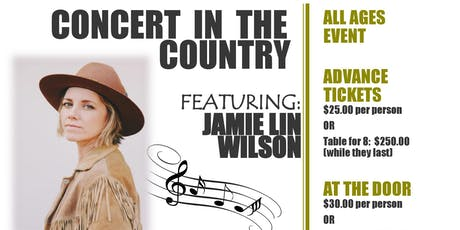 Concert in the Country tickets