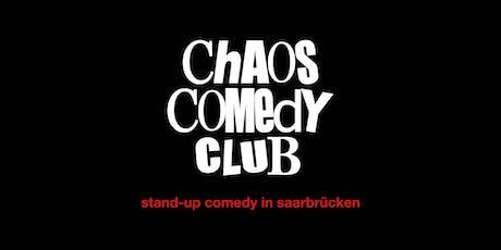 Chaos Comedy Club  - Saarbrücken Vol. 3 Tickets