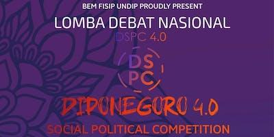 Diponegoro Social Political Club 4.0 (DSPC 4.0) (BERBAYAR)