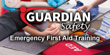 Emergency First Aid - 10 December 2019 tickets