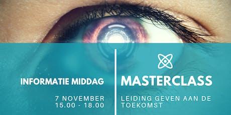 Informatie bijeenkomst; Masterclass 'Leiding geven tickets